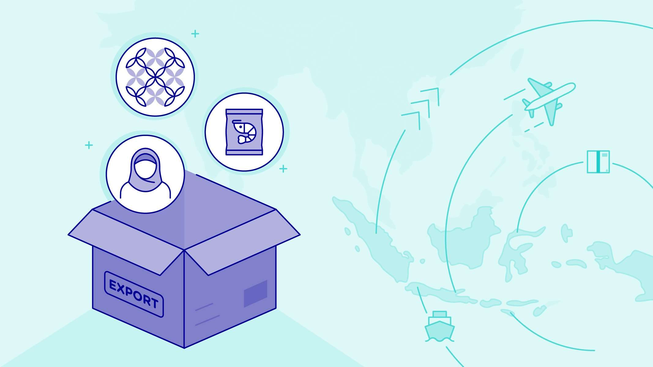 Diving into Indonesia's eCommerce Export Potential part 1 key visual