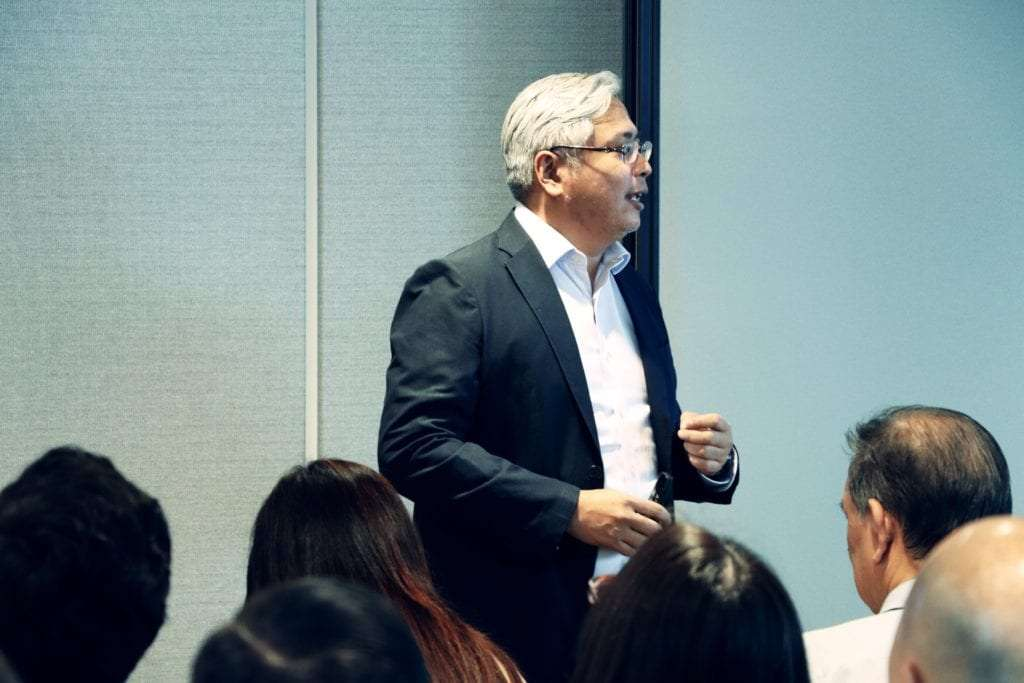 Rafi Ansari, Managing Director at Outboxx speaks at Janio and Fast & Fuyooh's KL event