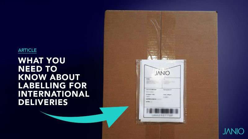 What you need to know about Labelling International Shipments