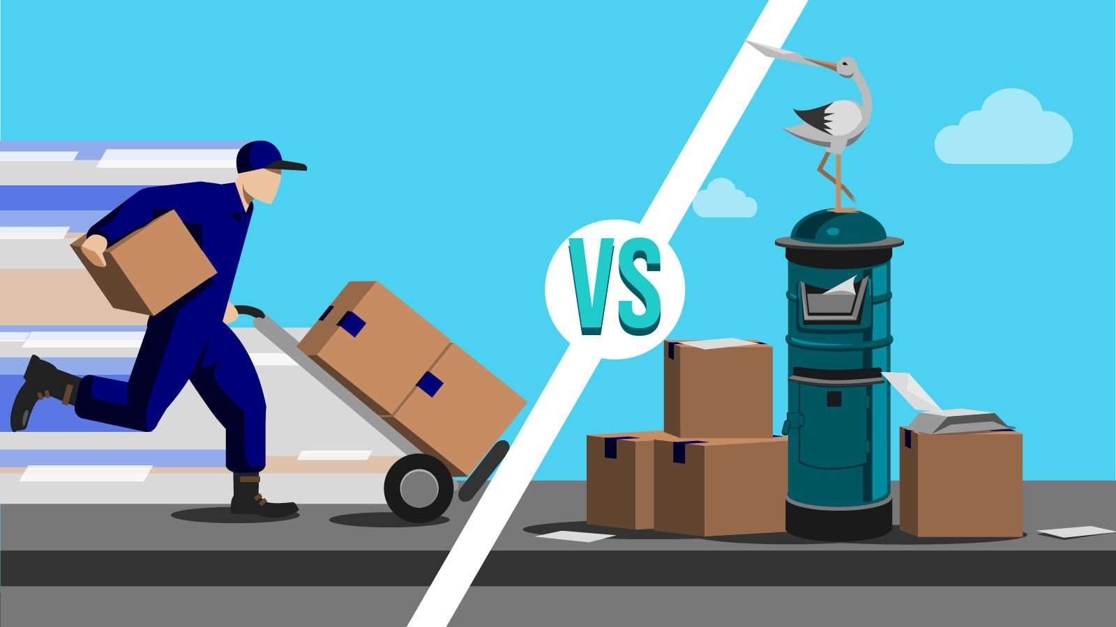 International Ecommerce Delivery 101 Couriers Vs Postal Services Janio