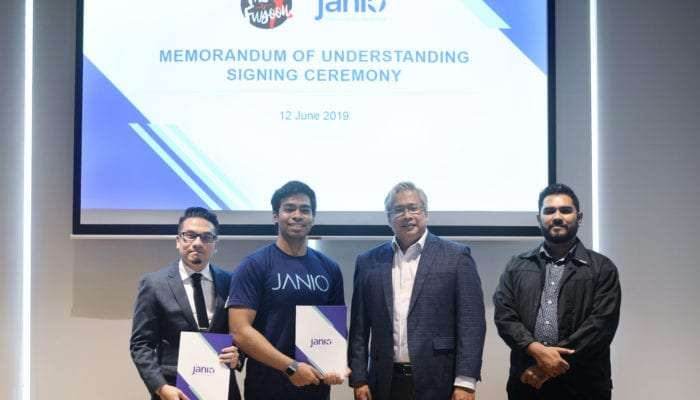 Janio Asia Partners with Fast & Fuyooh X