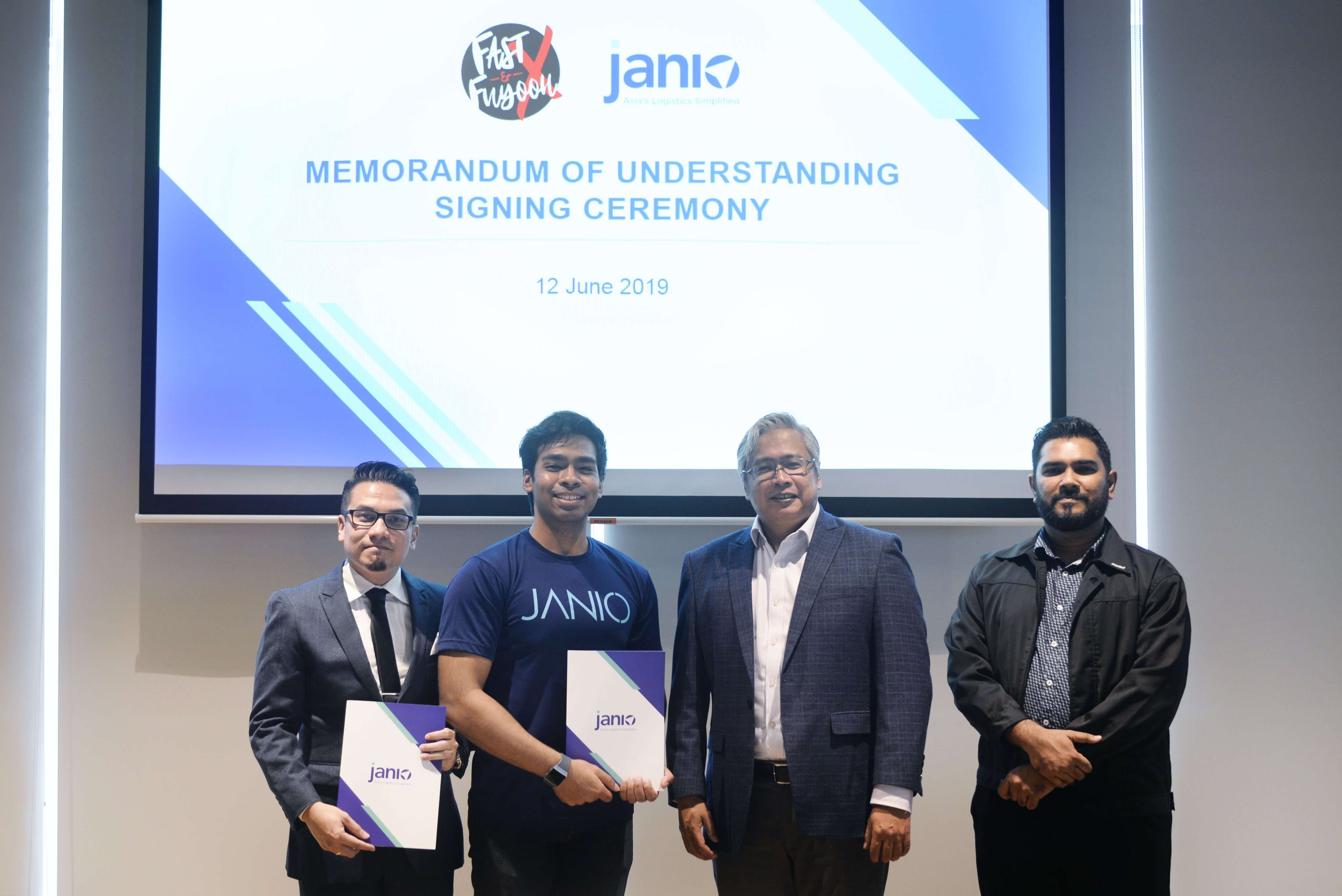 Janio Partners with Fast & Fuyooh X to Bridge More SMEs to Regional Markets