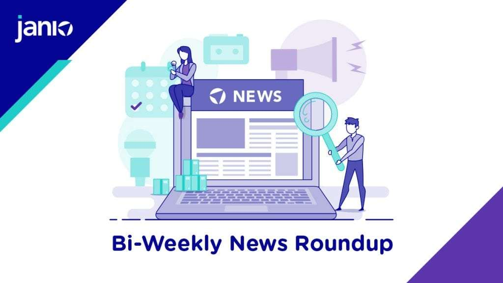 Janio's Bi-weekly News Roundup