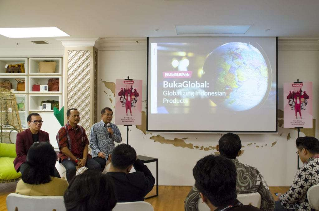 Bukalapak's launch at the Indonesian Embassy in Singapore