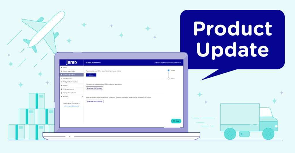 product update for bulk orders and rebranded tracker page
