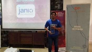 Janio Wins Best Newcomer Award at Singapore Rice Bowl Startup Awards 2019