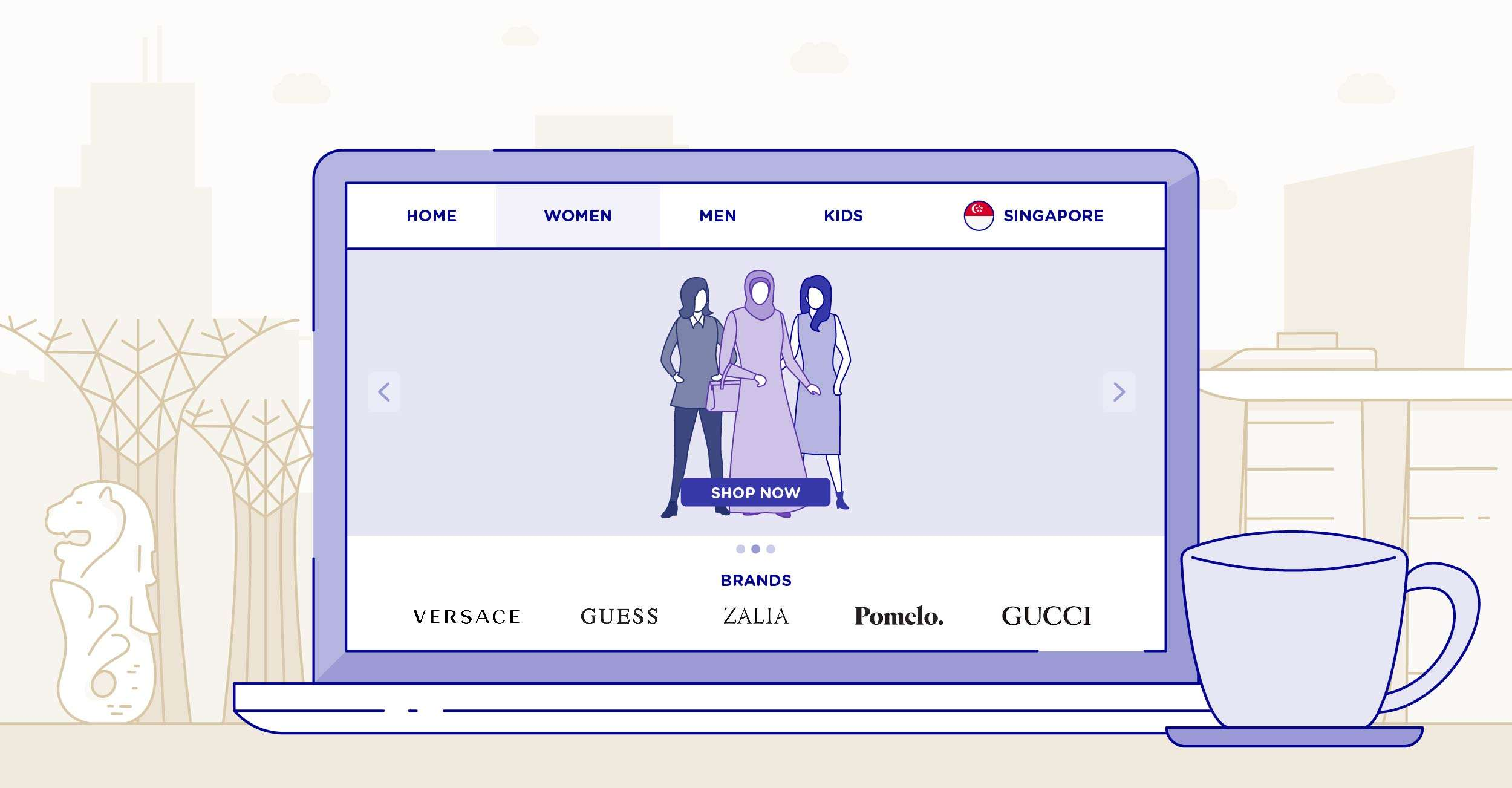4 Ways Consumers Shop Online in Singapore's eCommerce