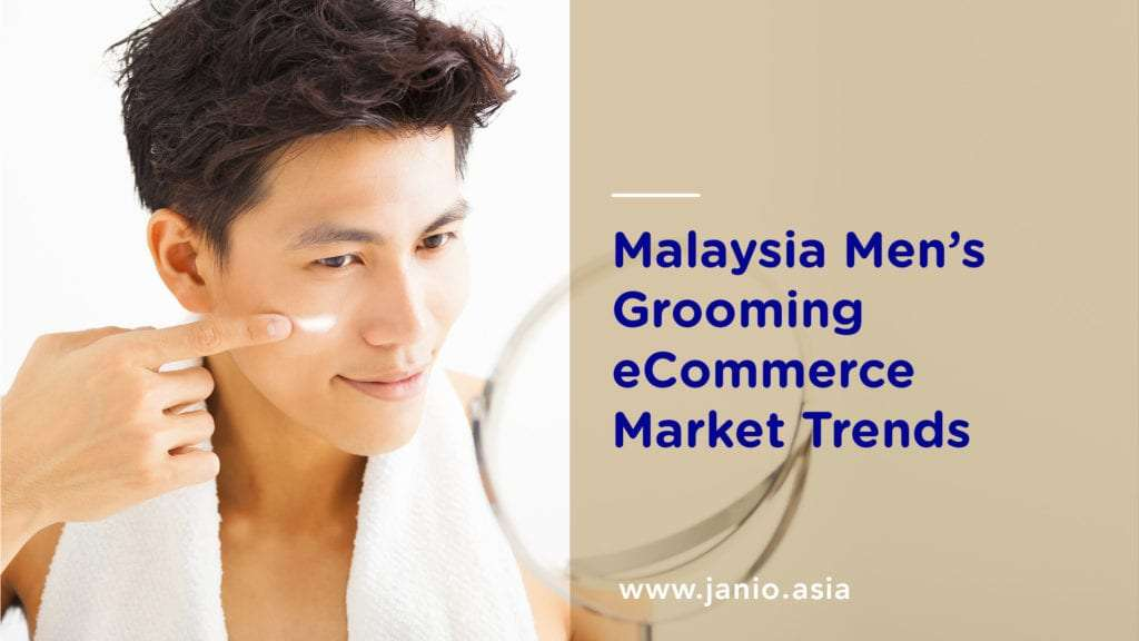 Malaysia Men's Grooming eCommerce Market Trends Key Visual