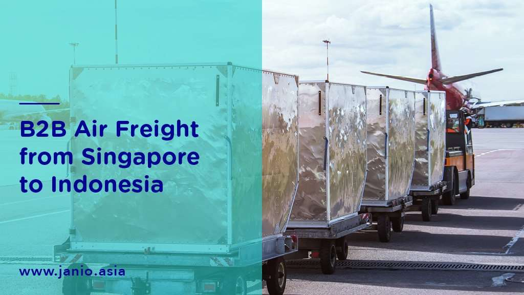 Shipping with Air Freight from Singapore to Indonesia