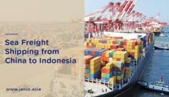 Shipping with Sea Freight from China to Indonesia