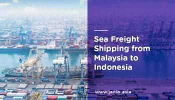 Shipping with Sea Freight from Malaysia to Indonesia