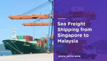 Shipping with Sea Freight from Singapore to Malaysia