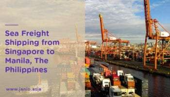 Shipping With Sea Freight from Singapore to the Philippines