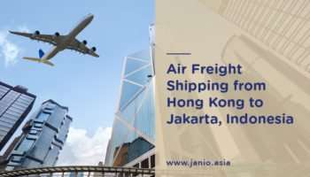 Air Freight Shipping from Hong Kong to Indonesia