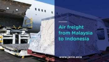 Shipping with Air Freight from Malaysia to Indonesia