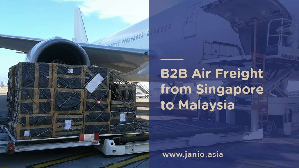Shipping with Air Freight from Singapore to Malaysia