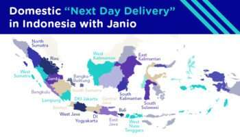 Janio Domestic Next Day Delivery in Indonesia Guide