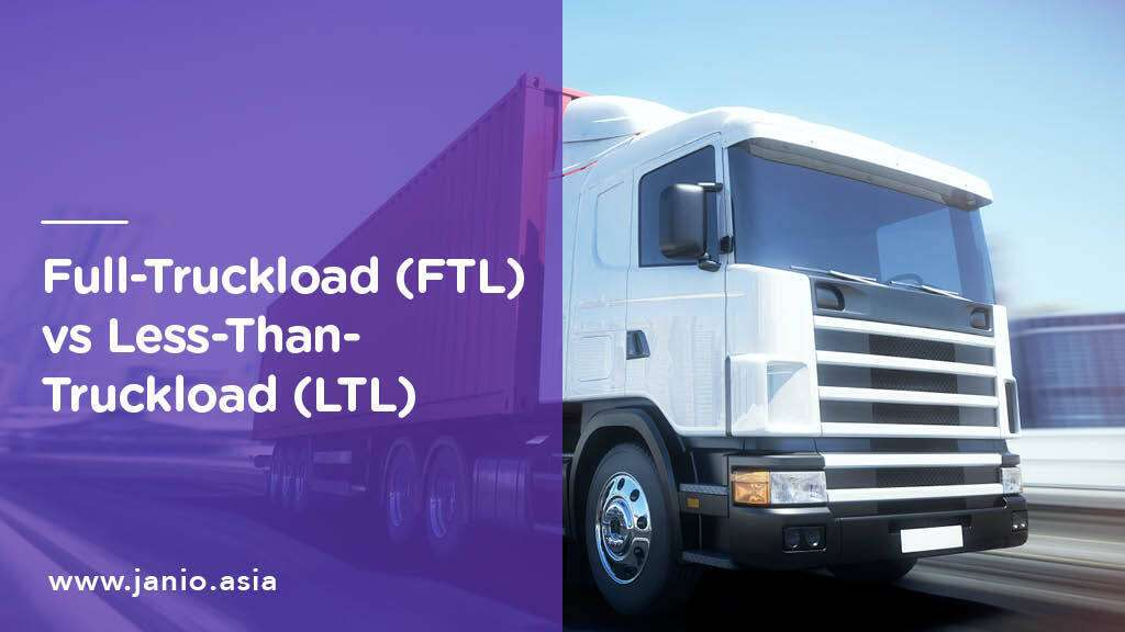 LTL vs FTL: What is Less-than-Truckload and Full-Truckload Freight?