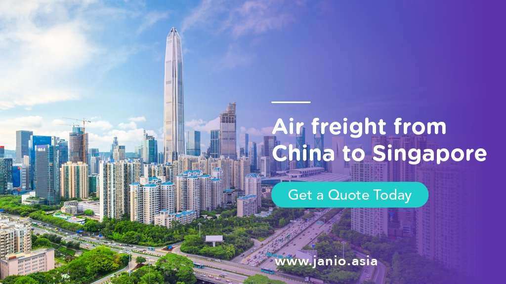 Air Freight from China to Singapore