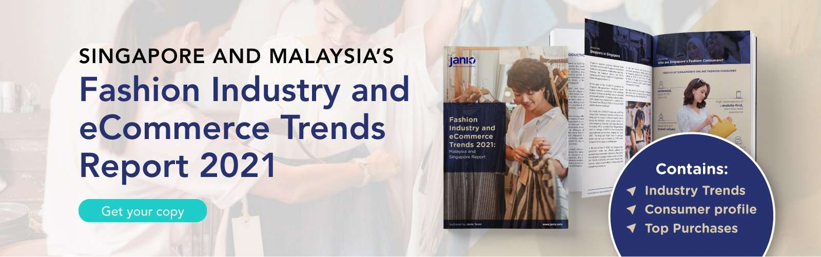 Janio's Singapore and Malaysia Fashion eBook Cover for Janio's desktop homepage banner