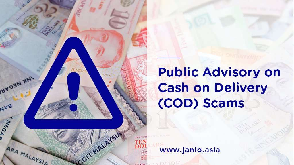 Public Advisory on Cash On Delivery (COD) Scams