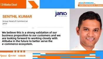 Janio Named Country Star of Alibaba Cloud x KrAsia Global Startup Accelerator's Malaysia Demo Day