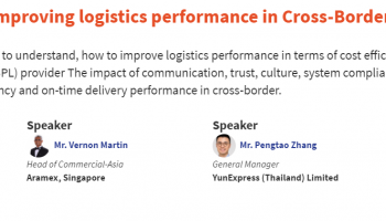 Senthil shares tips on how to optimise logistics performance during Asia Warehousing Virtual Show 2021's Panel Discussion